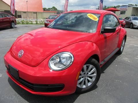 2016 Volkswagen Beetle for sale at American Financial Cars in Orlando FL