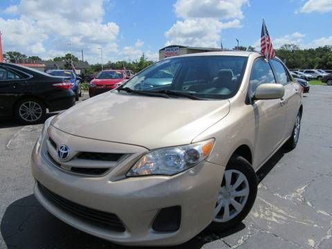 2011 Toyota Corolla for sale at American Financial Cars in Orlando FL