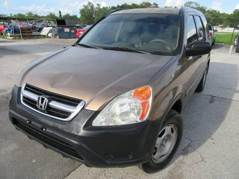 2002 Honda CR-V for sale at American Financial Cars in Orlando FL