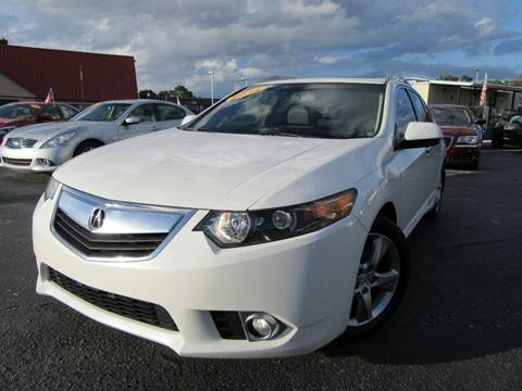 2012 Acura TSX Sport Wagon for sale at American Financial Cars in Orlando FL