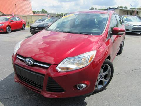 2014 Ford Focus for sale at American Financial Cars in Orlando FL