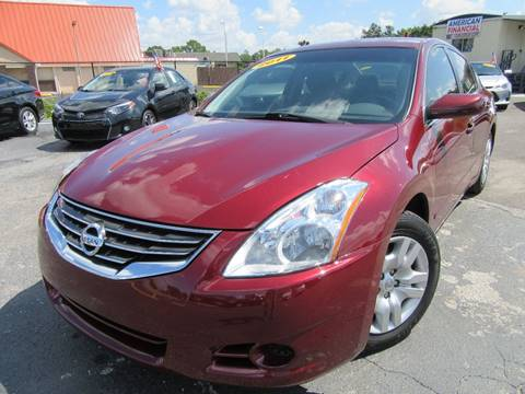 2011 Nissan Altima for sale at American Financial Cars in Orlando FL