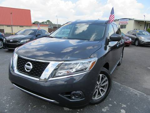 2014 Nissan Pathfinder for sale at American Financial Cars in Orlando FL