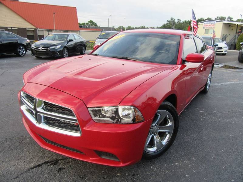 2013 Dodge Charger for sale at American Financial Cars in Orlando FL