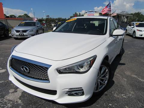 2014 Infiniti Q50 for sale at American Financial Cars in Orlando FL