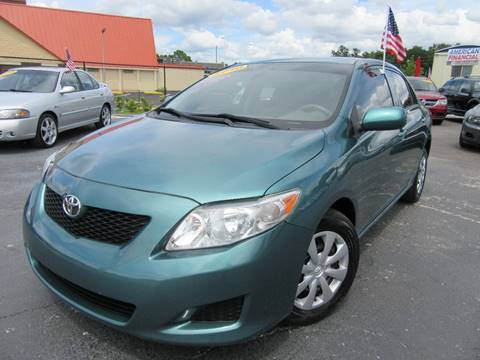 2010 Toyota Corolla for sale at American Financial Cars in Orlando FL