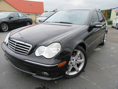 2007 Mercedes-Benz C-Class for sale at American Financial Cars in Orlando FL