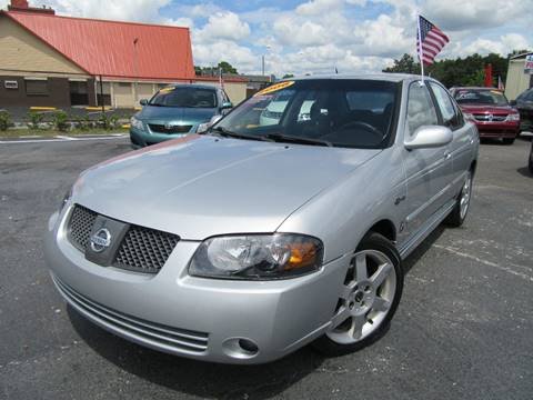 2006 Nissan Sentra for sale at American Financial Cars in Orlando FL