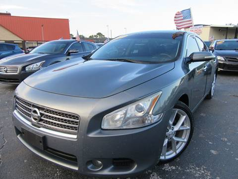2009 Nissan Maxima for sale at American Financial Cars in Orlando FL
