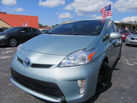 2015 Toyota Prius for sale at American Financial Cars in Orlando FL
