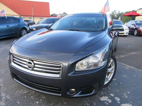 2012 Nissan Maxima for sale at American Financial Cars in Orlando FL