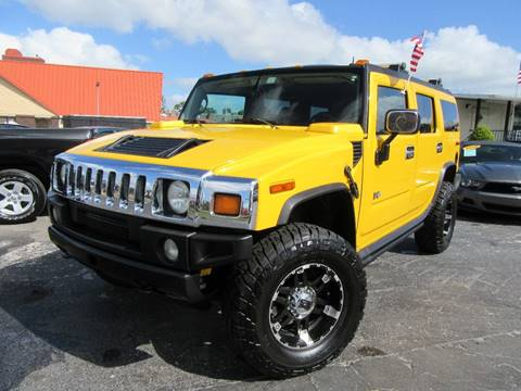 2003 HUMMER H2 for sale at American Financial Cars in Orlando FL