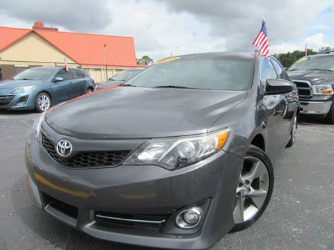 2012 Toyota Camry for sale at American Financial Cars in Orlando FL