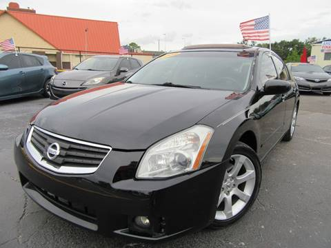 2008 Nissan Maxima for sale at American Financial Cars in Orlando FL