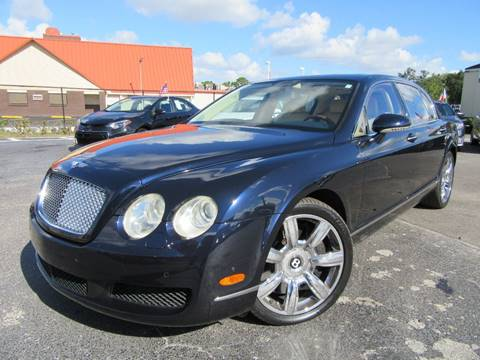 2007 Bentley Continental Flying Spur for sale at American Financial Cars in Orlando FL