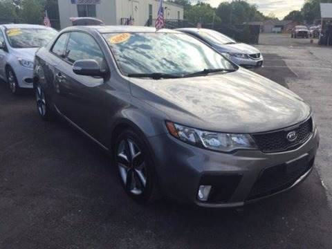 2010 Kia Forte Koup for sale at American Financial Cars in Orlando FL