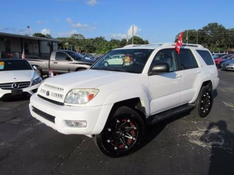 2004 Toyota 4Runner for sale at American Financial Cars in Orlando FL