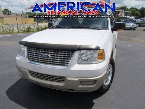 2006 Ford Expedition for sale at American Financial Cars in Orlando FL