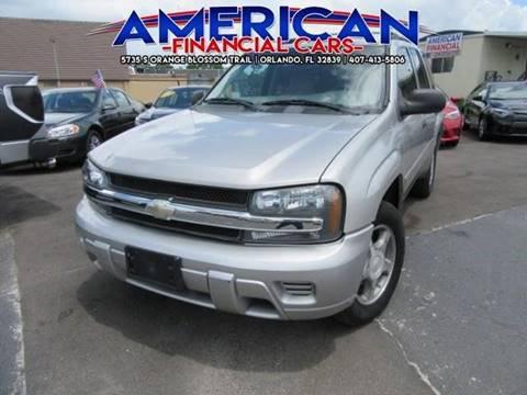 2007 Chevrolet TrailBlazer for sale at American Financial Cars in Orlando FL