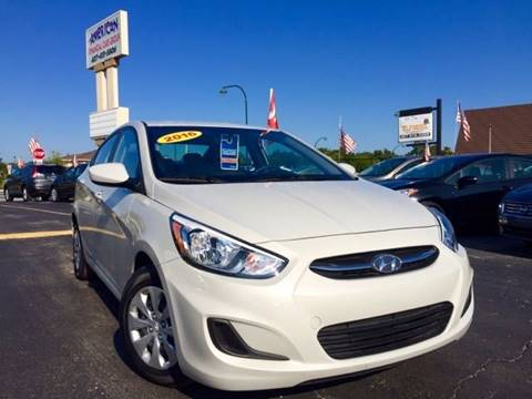 2015 Hyundai Accent for sale at American Financial Cars in Orlando FL