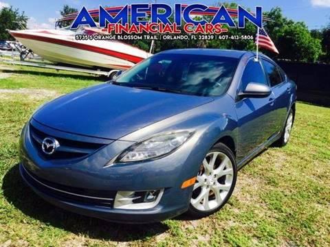 2009 Mazda MAZDA6 for sale at American Financial Cars in Orlando FL