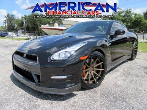2015 Nissan GT-R for sale at American Financial Cars in Orlando FL