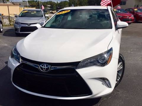 2015 Toyota Camry for sale at American Financial Cars in Orlando FL