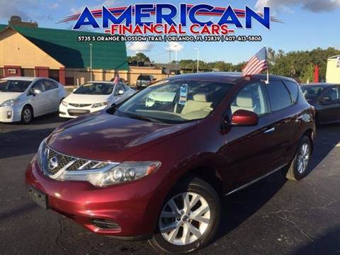 2011 Nissan Murano for sale at American Financial Cars in Orlando FL