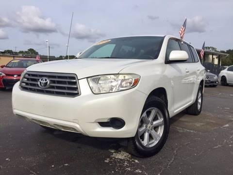 2008 Toyota Highlander for sale at American Financial Cars in Orlando FL