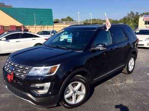 2016 Ford Explorer for sale at American Financial Cars in Orlando FL