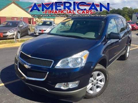 2012 Chevrolet Traverse for sale at American Financial Cars in Orlando FL