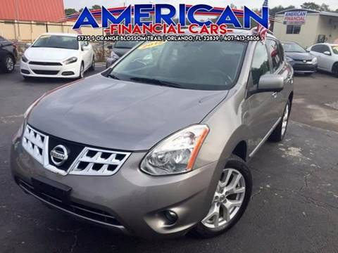 2012 Nissan Rogue for sale at American Financial Cars in Orlando FL