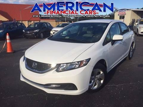 2015 Honda Civic for sale at American Financial Cars in Orlando FL