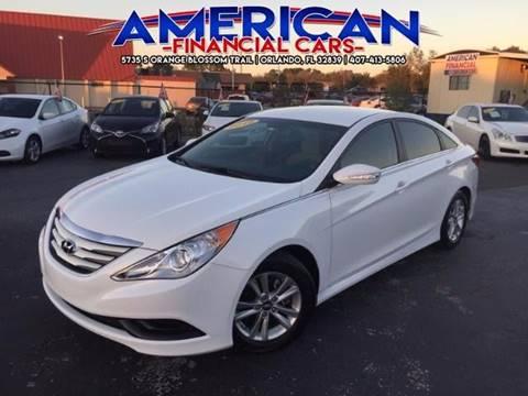 2014 Hyundai Sonata for sale at American Financial Cars in Orlando FL