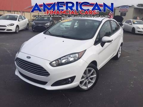 2016 Ford Fiesta for sale at American Financial Cars in Orlando FL