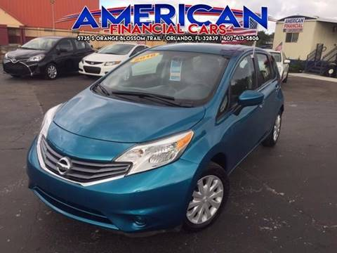 2016 Nissan Versa Note for sale at American Financial Cars in Orlando FL