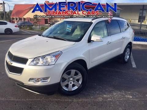 2011 Chevrolet Traverse for sale at American Financial Cars in Orlando FL