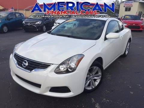 2012 Nissan Altima for sale at American Financial Cars in Orlando FL