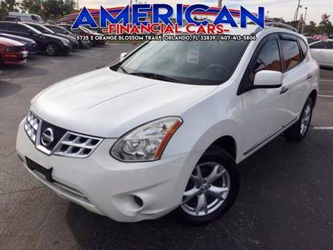 2011 Nissan Rogue for sale at American Financial Cars in Orlando FL