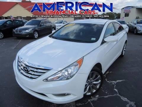 2012 Hyundai Sonata for sale at American Financial Cars in Orlando FL