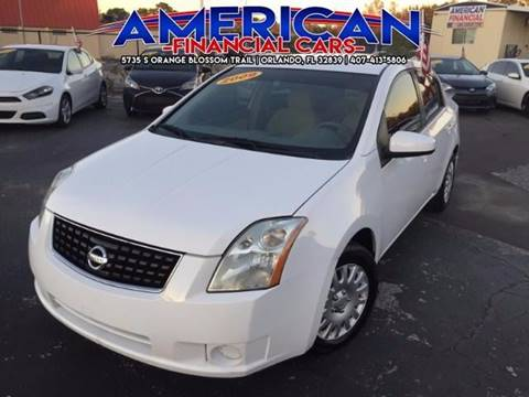 2009 Nissan Sentra for sale at American Financial Cars in Orlando FL