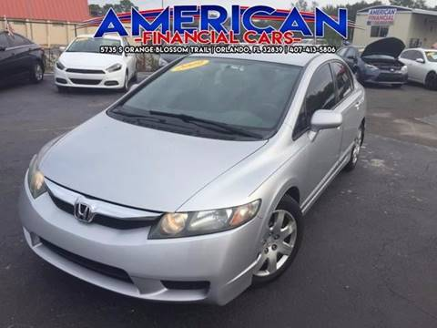 2009 Honda Civic for sale at American Financial Cars in Orlando FL