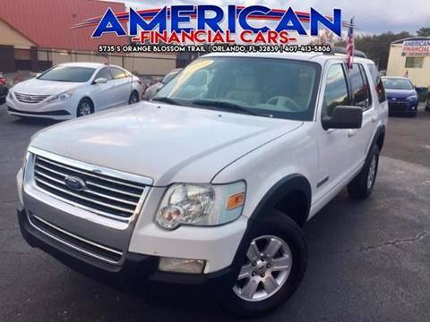 2007 Ford Explorer for sale at American Financial Cars in Orlando FL