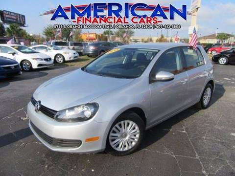 2013 Volkswagen Golf for sale at American Financial Cars in Orlando FL