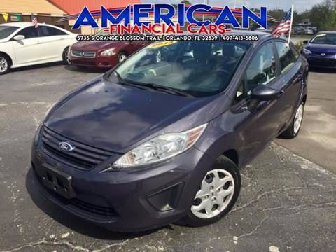2013 Ford Fiesta for sale at American Financial Cars in Orlando FL