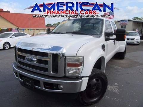 2008 Ford F-350 Super Duty for sale at American Financial Cars in Orlando FL