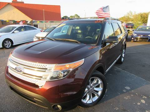 2012 Ford Explorer for sale at American Financial Cars in Orlando FL