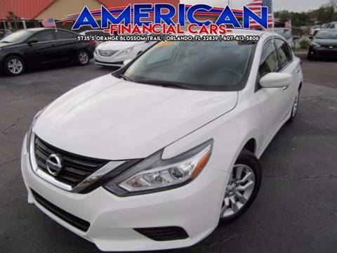 2016 Nissan Altima for sale at American Financial Cars in Orlando FL