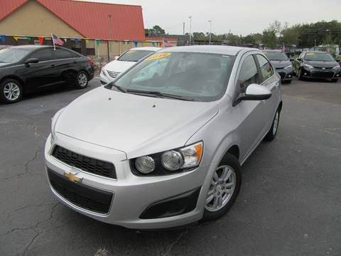 2016 Chevrolet Sonic for sale at American Financial Cars in Orlando FL