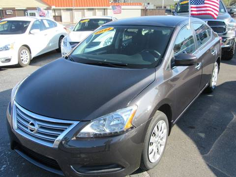 2014 Nissan Sentra for sale at American Financial Cars in Orlando FL